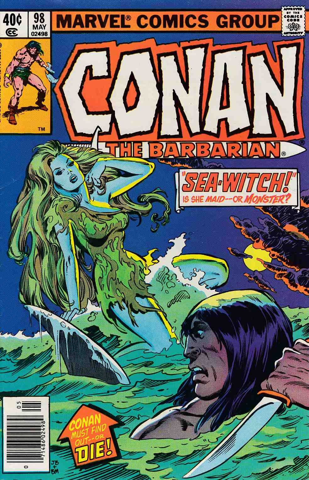 Conan the Barbarian #98 Fine (6.0) [Marvel Comic] LARGE