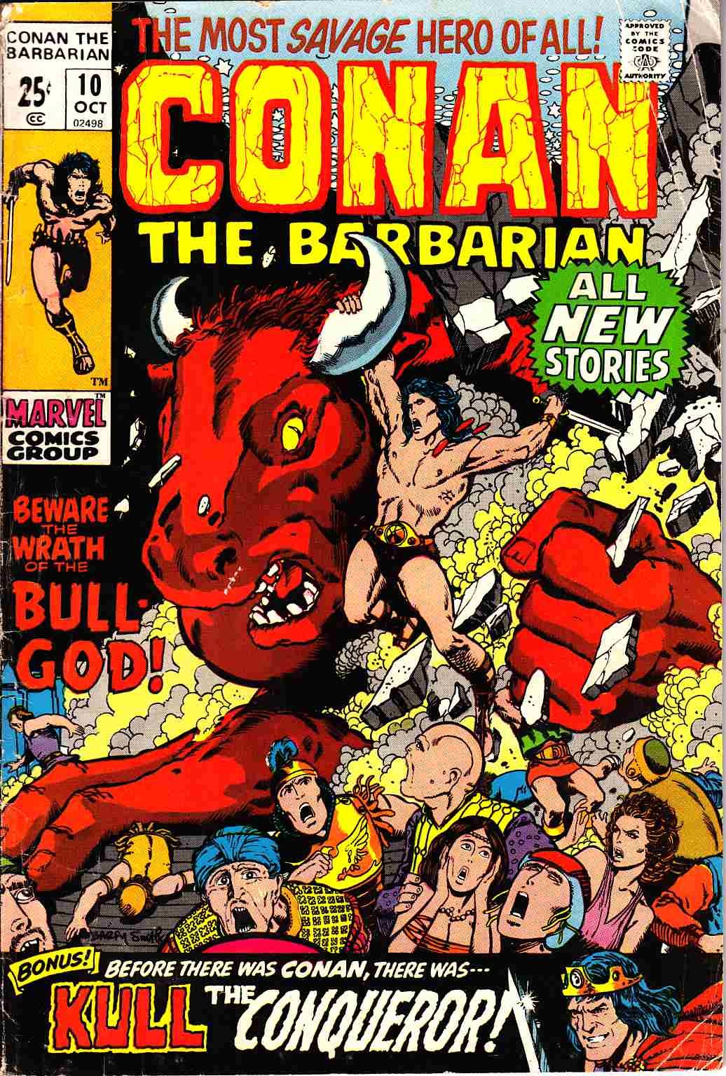 Conan the Barbarian #10 Very Good (4.0) [Marvel Comic]