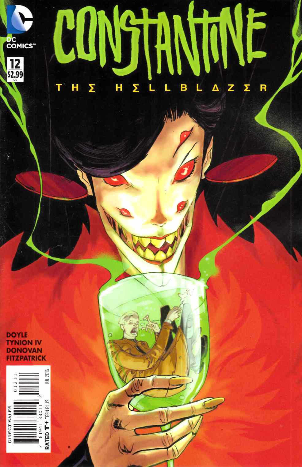 Constantine the Hellblazer #12 [DC Comic] LARGE