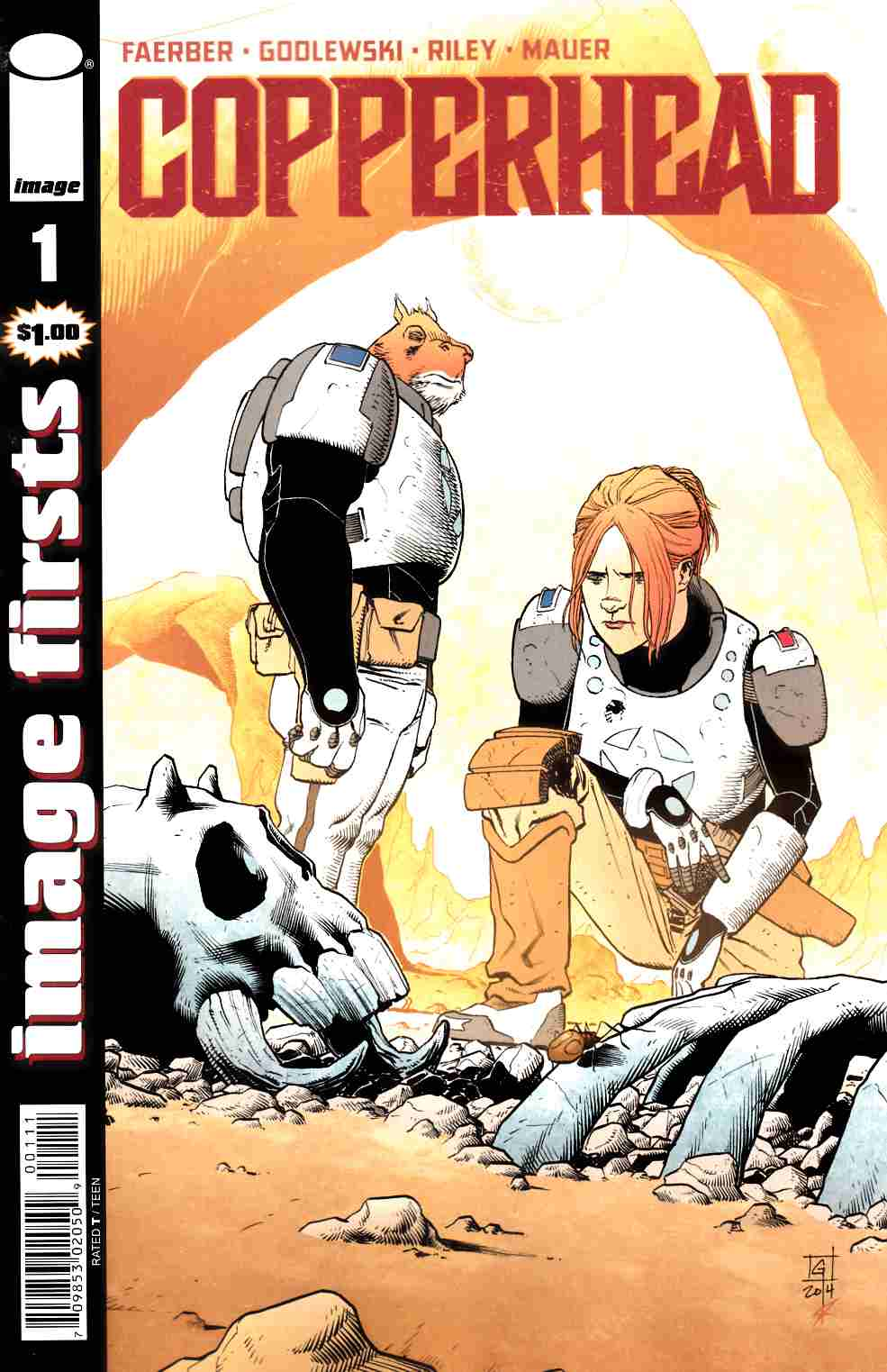 Copperhead #1 Image Firsts Edition [Image Comic]_THUMBNAIL