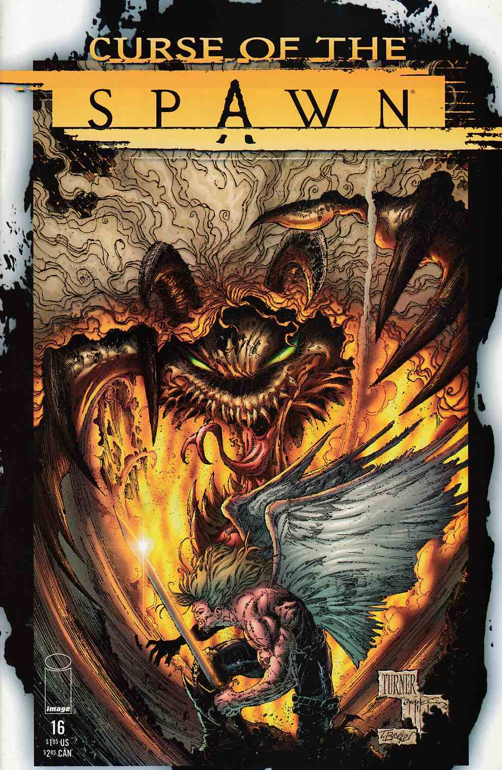 Curse of the Spawn #16 Near Mint (9.4) [Image Comic] THUMBNAIL