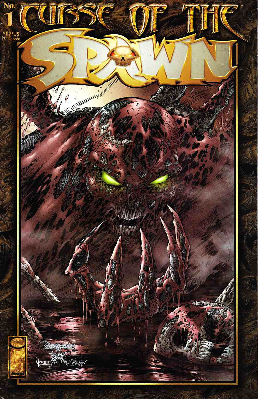 Curse of the Spawn #1 Very Fine Minus (7.5) [Image Comic] THUMBNAIL