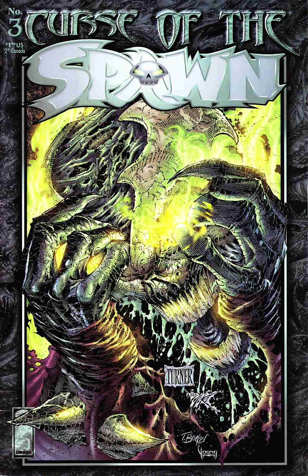 Curse of the Spawn #3 Very Fine (8.0) [Image Comic] THUMBNAIL
