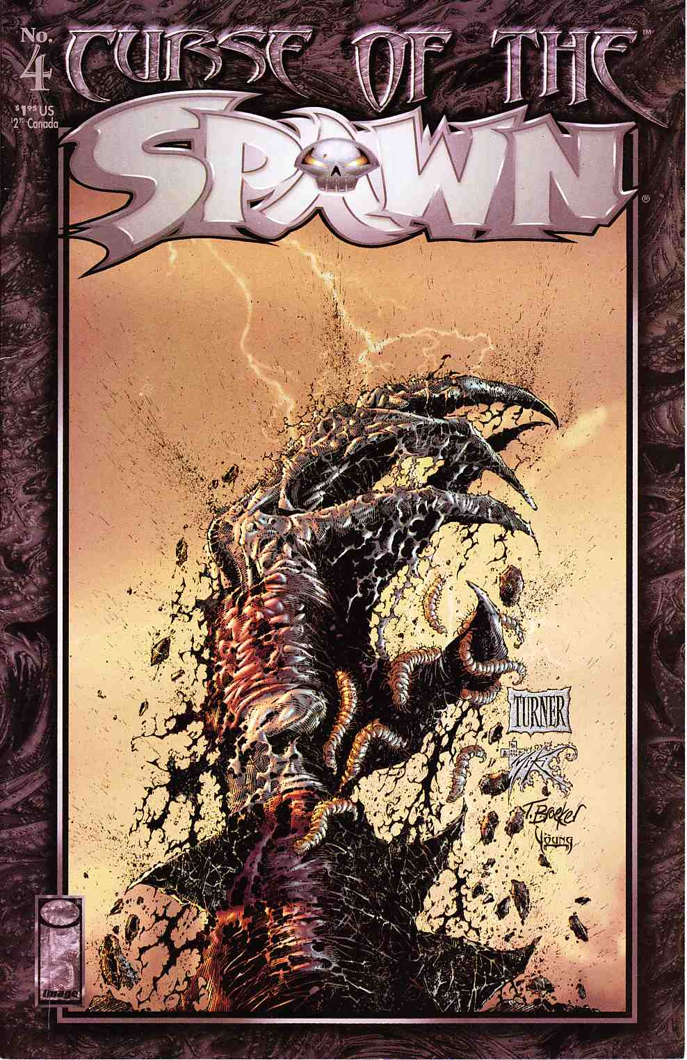 Curse of the Spawn #4 Fine/Very Fine (7.0) [Image Comic] THUMBNAIL