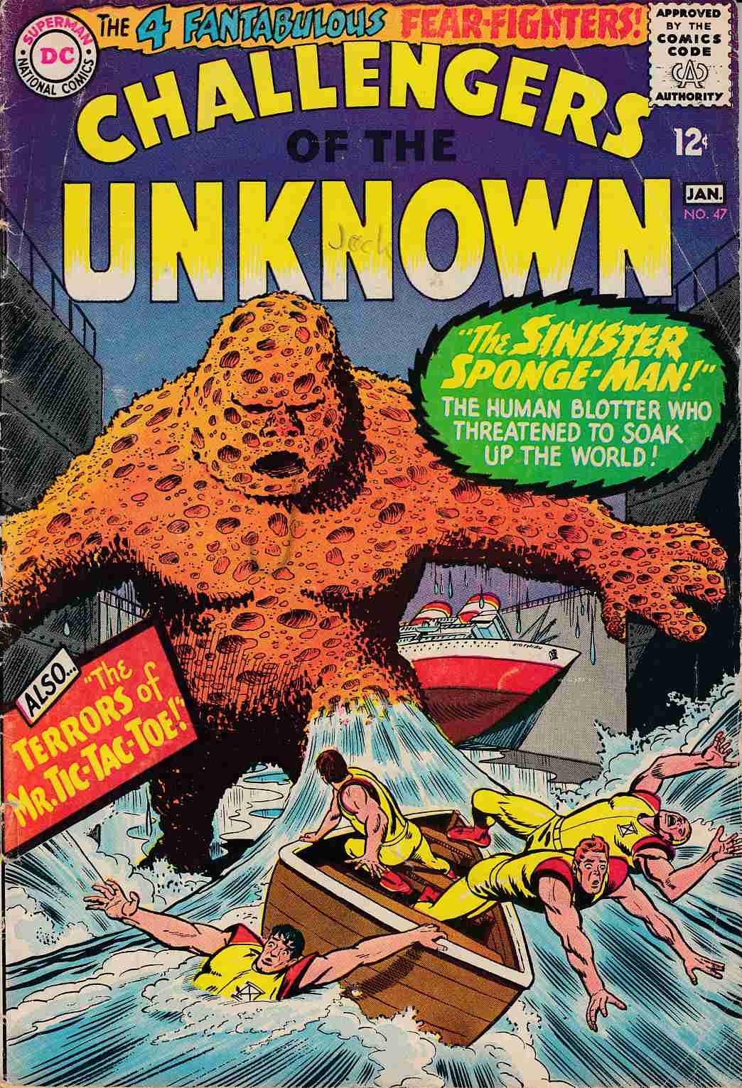 Challengers of the Unknown #47 Good (2.0) [DC Comic]_THUMBNAIL