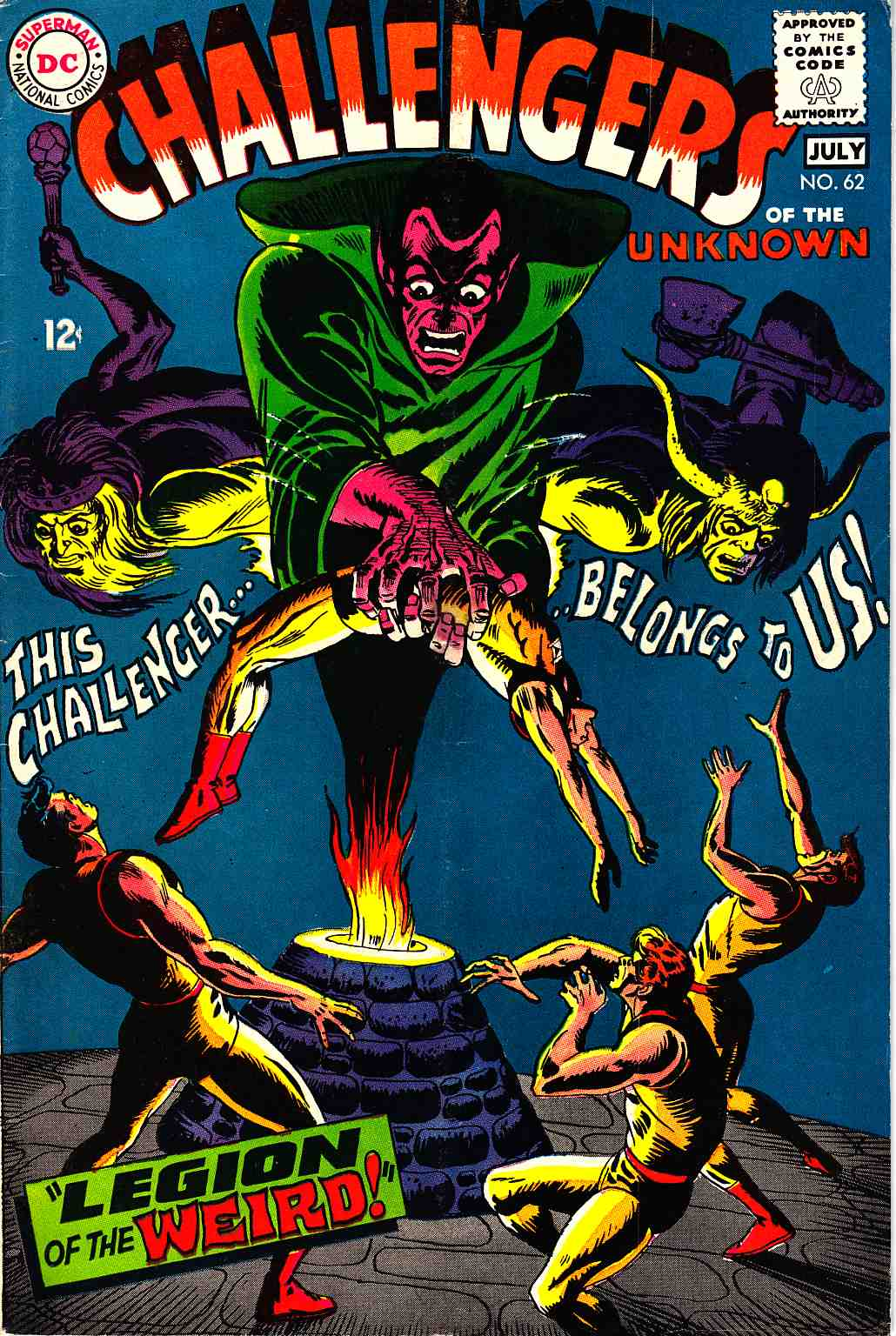 Challengers of the Unknown #62 [DC Comic]_THUMBNAIL