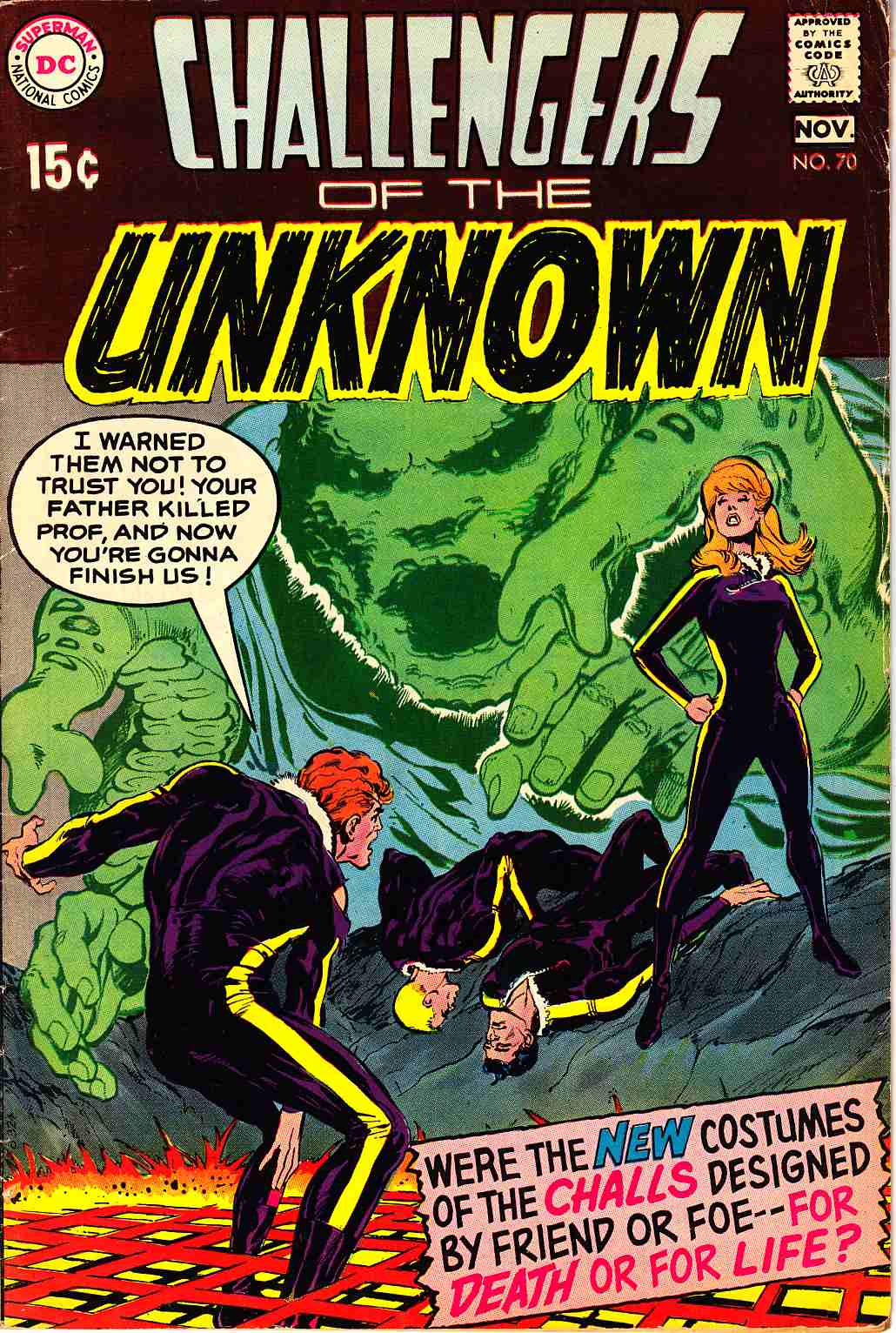 Challengers of the Unknown #70 [DC Comic]_THUMBNAIL