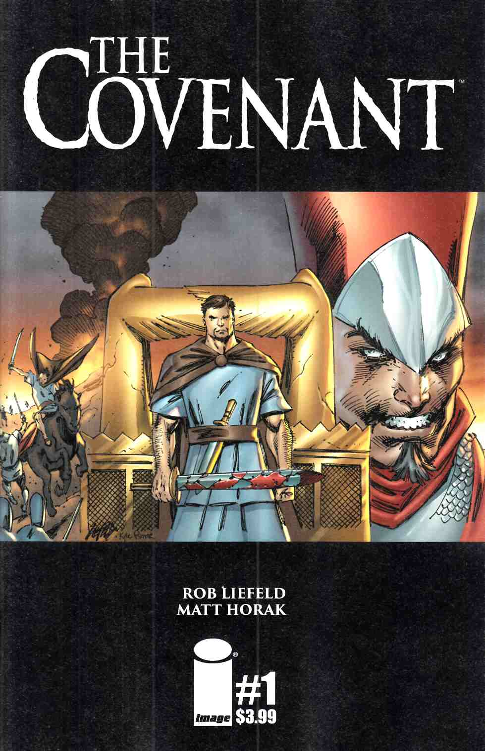 Covenant #1 Cover A- Liefeld [Image Comic] THUMBNAIL