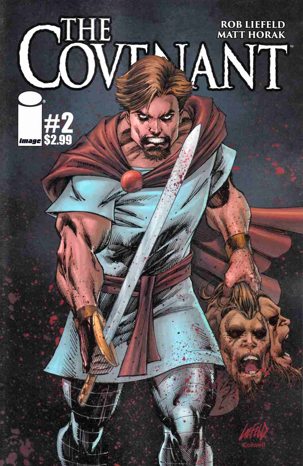 Covenant #2 Cover A- Liefeld [Image Comic] THUMBNAIL