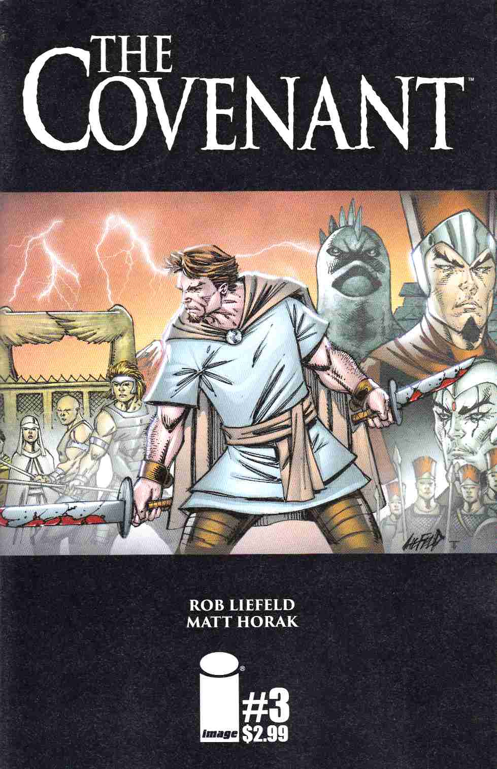 Covenant #3 Cover A- Liefeld [Image Comic] THUMBNAIL