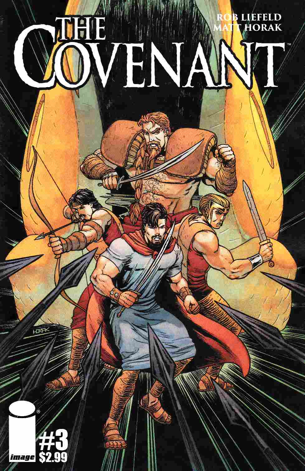 Covenant #3 Cover B- Horak [Image Comic]