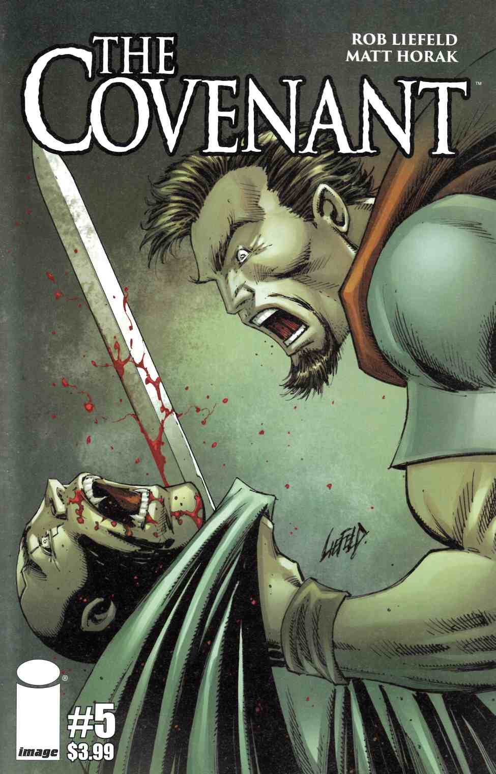 Covenant #5 Cover A- Liefeld [Image Comic] THUMBNAIL