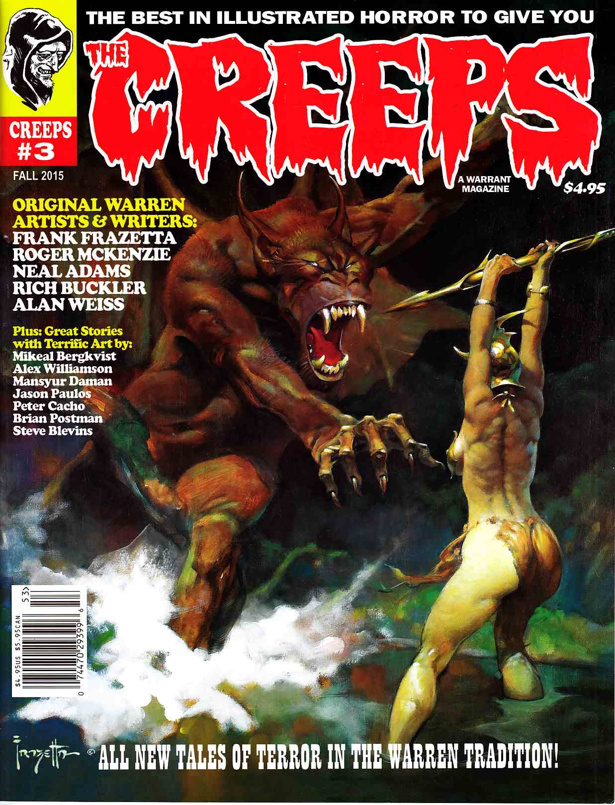 The Creeps #3 [Warrent Comic] THUMBNAIL