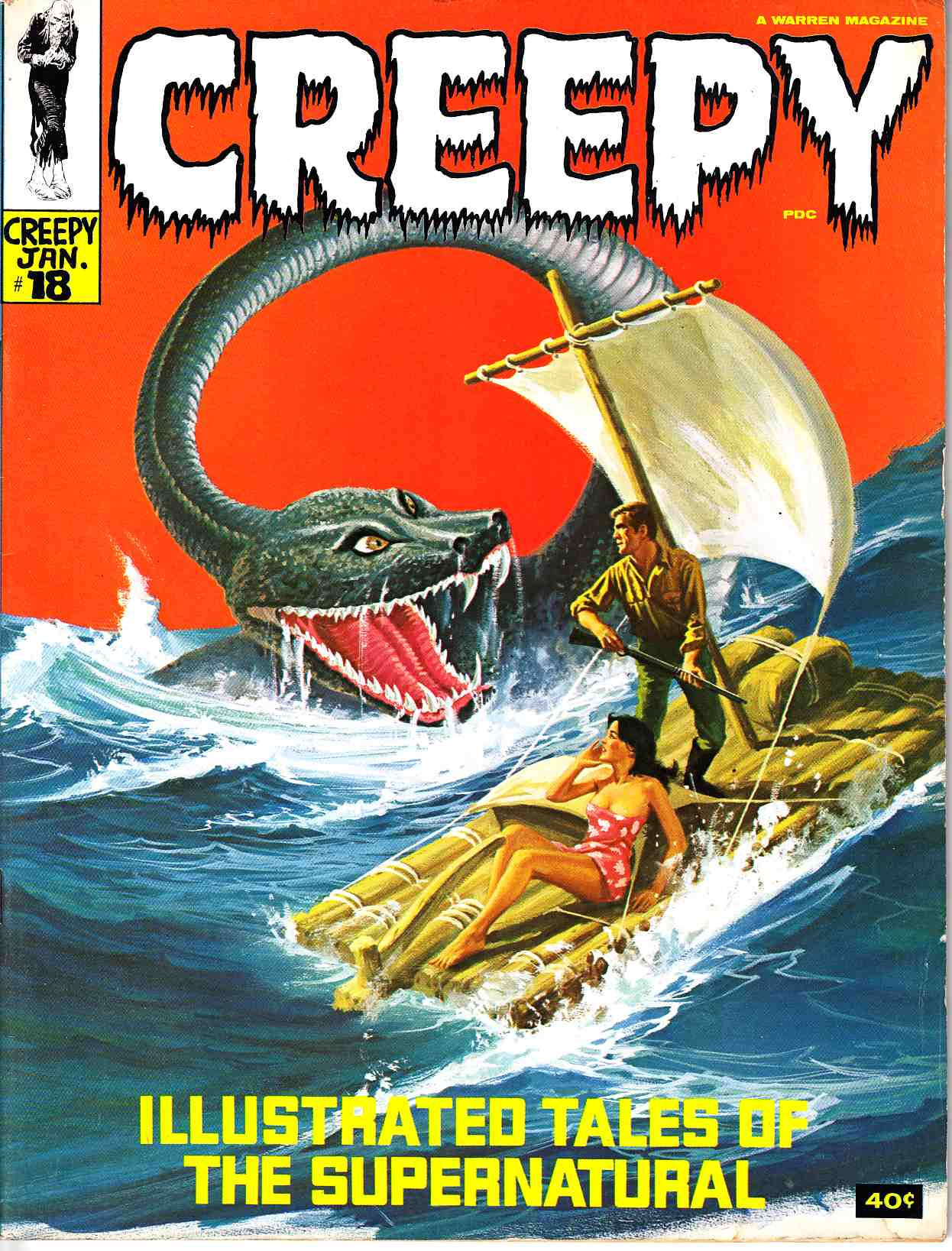 Creepy #18 [Warren Magazine] THUMBNAIL