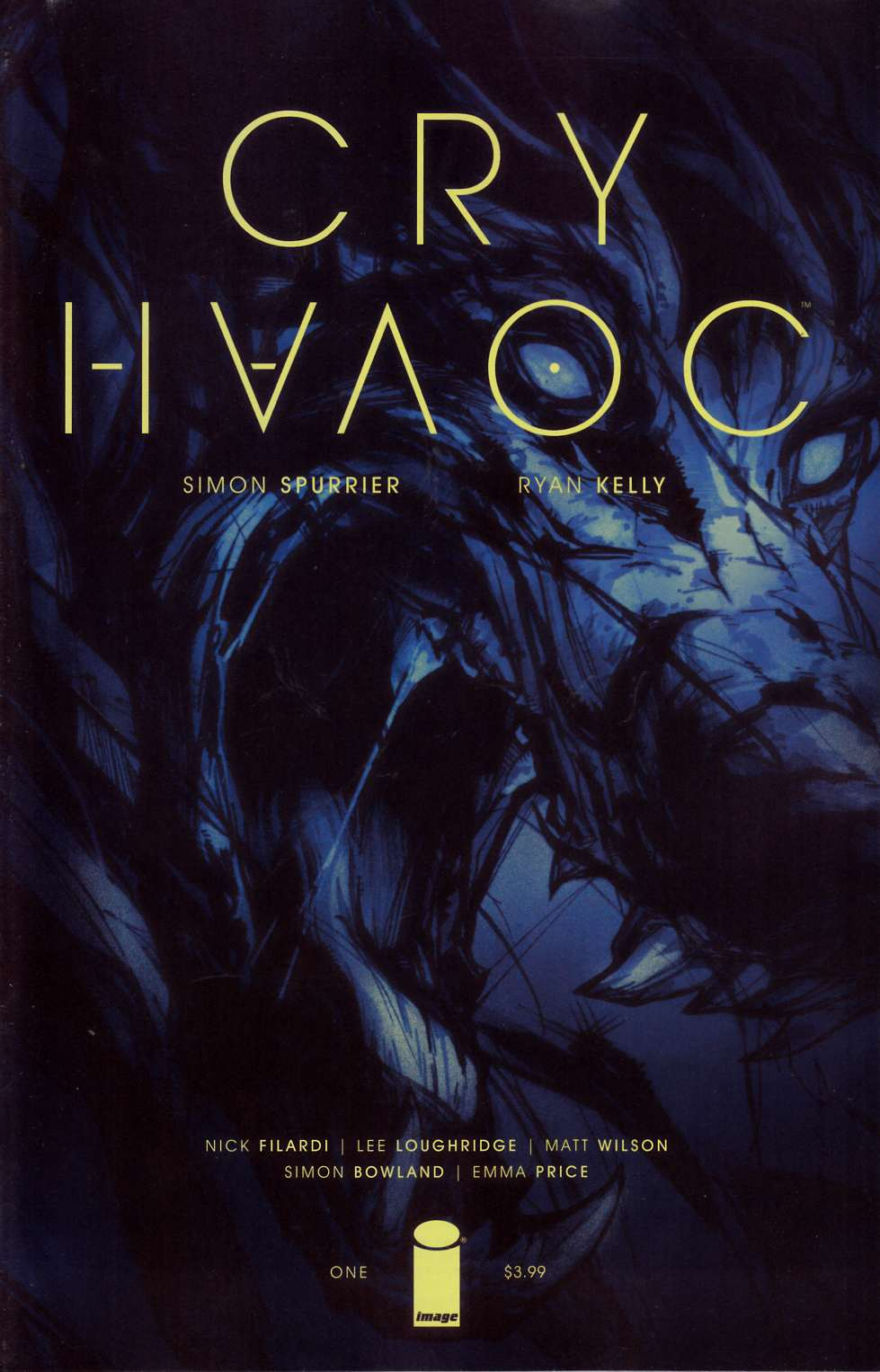 Cry Havoc #1 Cover A- Kelly & Price [Image Comic] THUMBNAIL