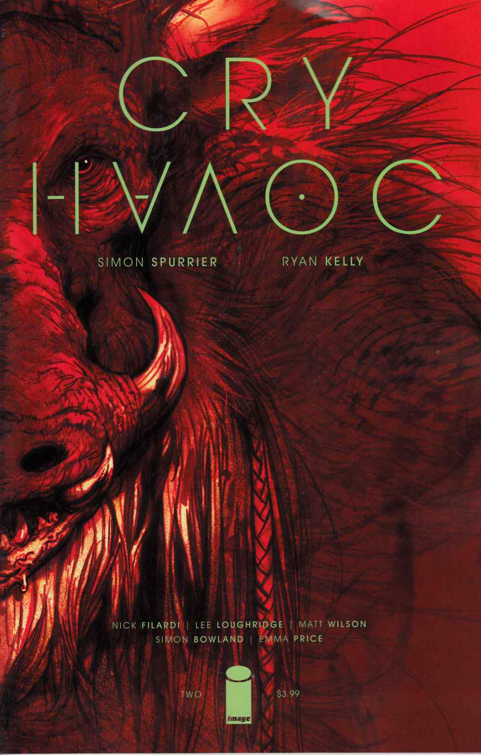 Cry Havoc #2 Cover A- Kelly & Price [Image Comic] THUMBNAIL