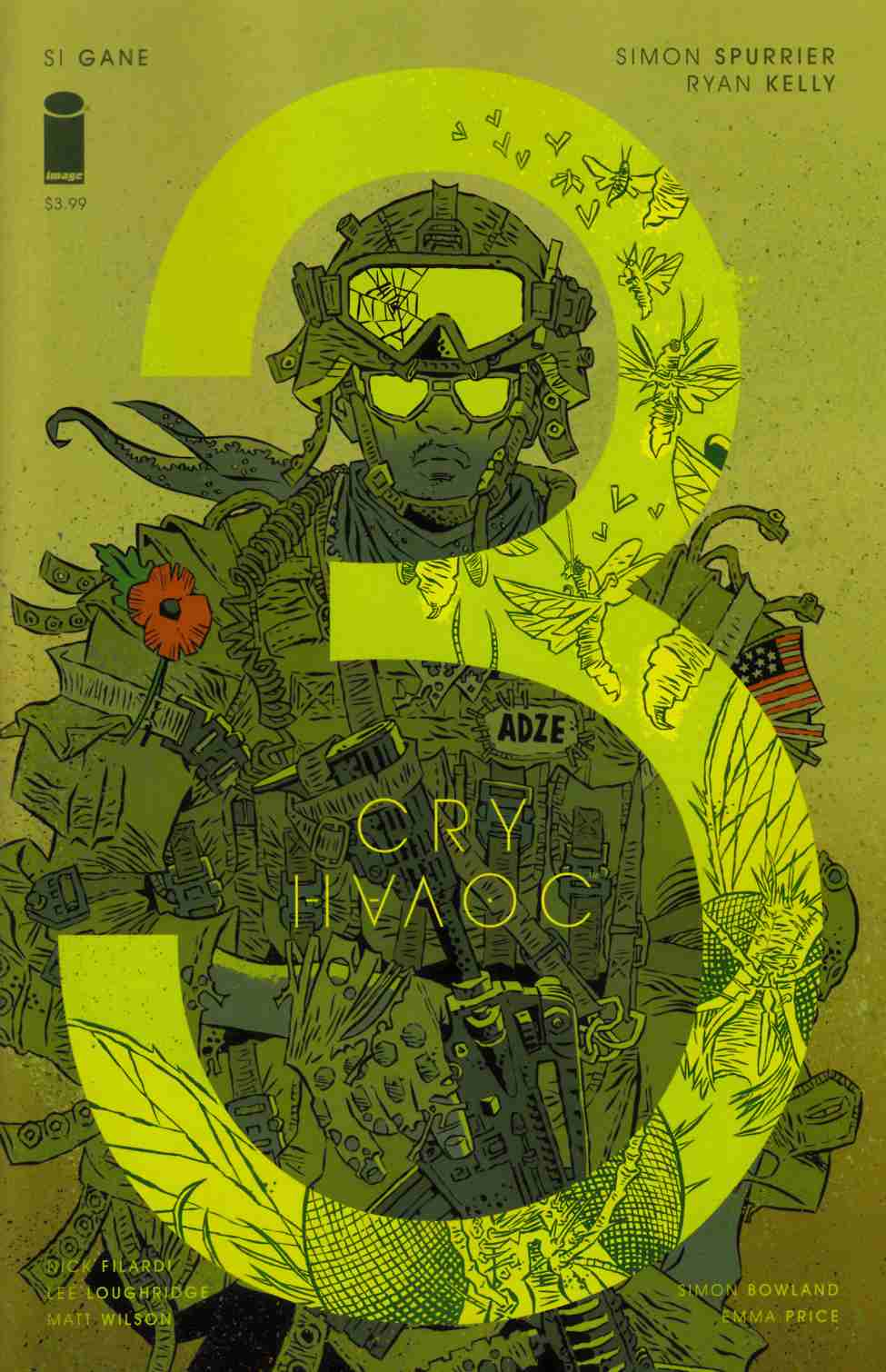 Cry Havoc #3 Cover B [Image Comic] THUMBNAIL