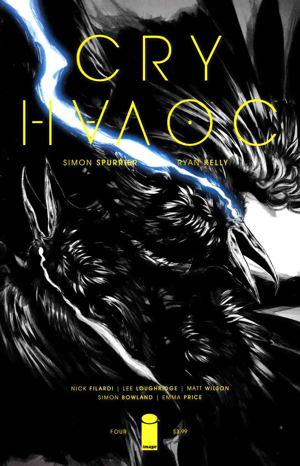 Cry Havoc #4 Cover A [Image Comic] LARGE