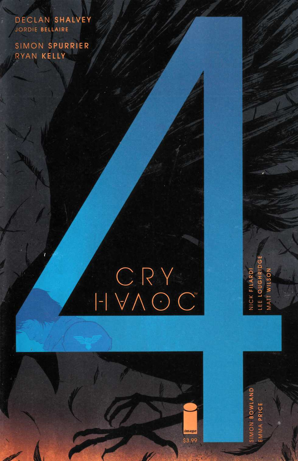 Cry Havoc #4 Cover B [Image Comic] THUMBNAIL