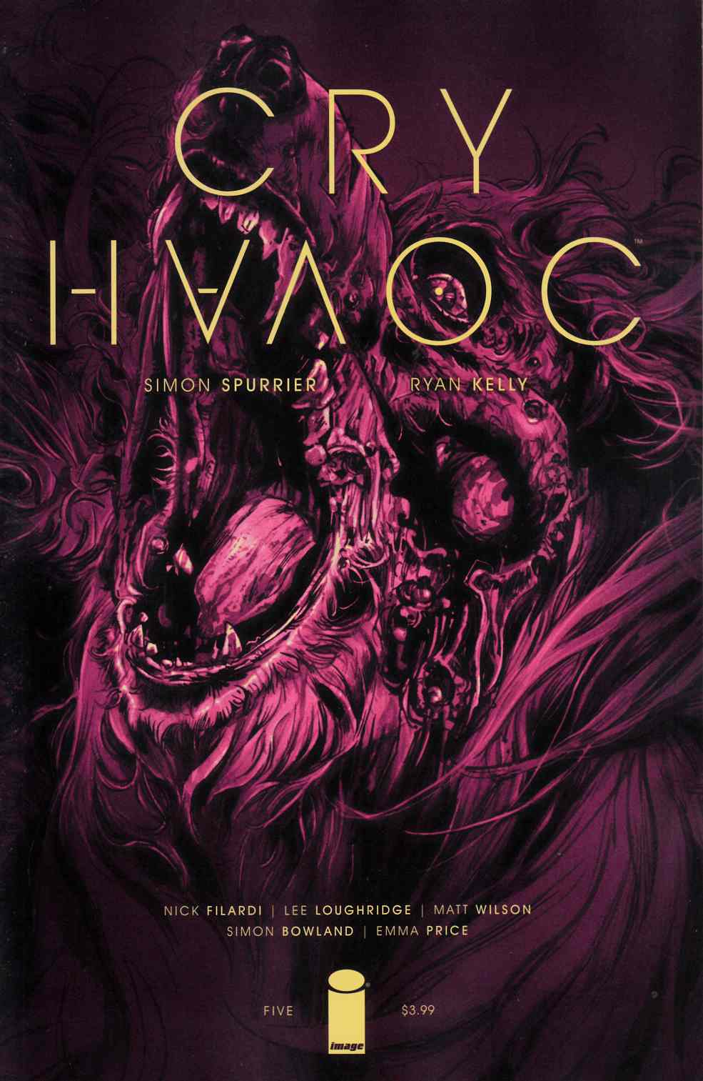 Cry Havoc #5 Cover A [Image Comic] LARGE