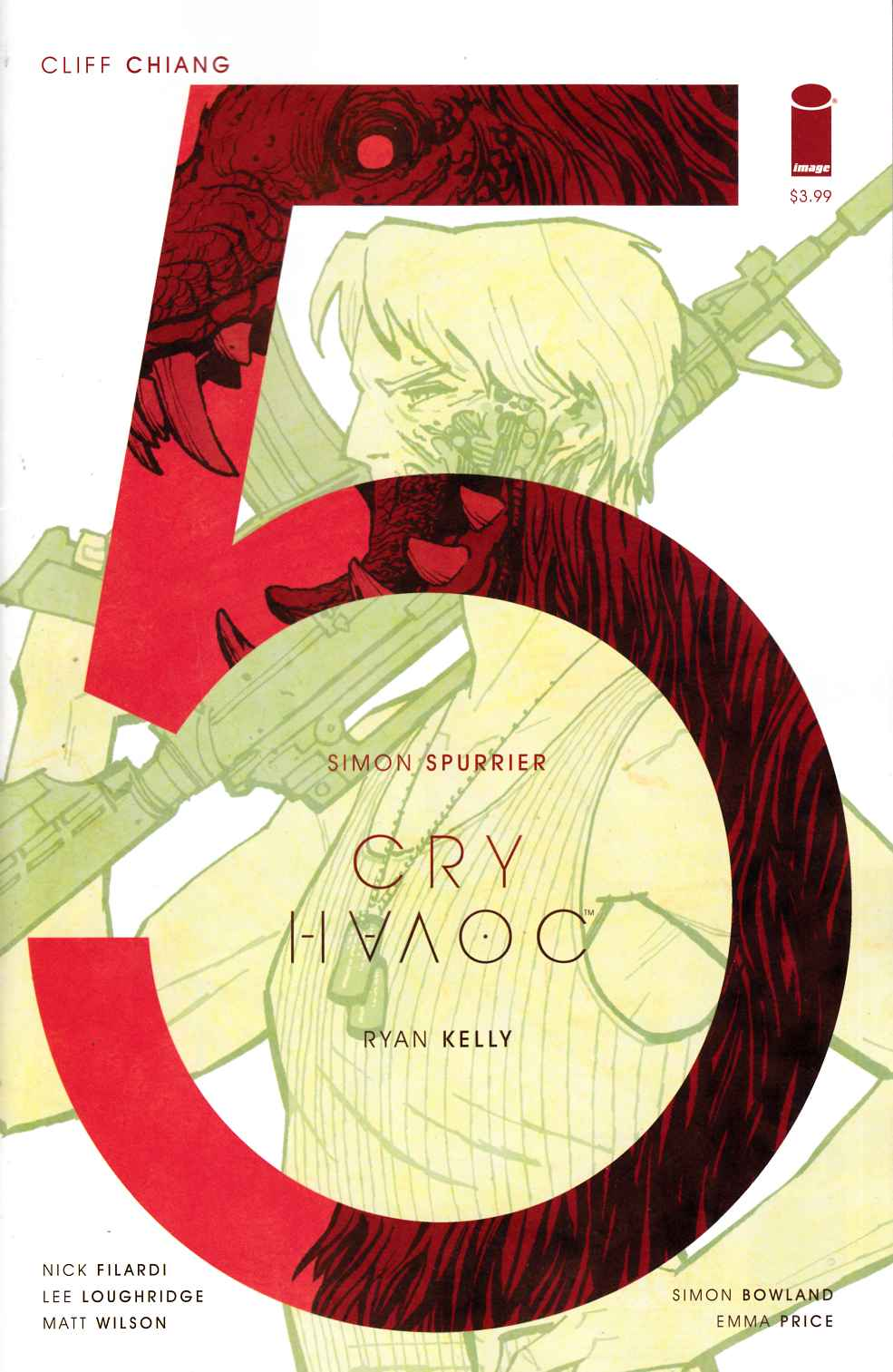 Cry Havoc #5 Cover B [Image Comic] THUMBNAIL