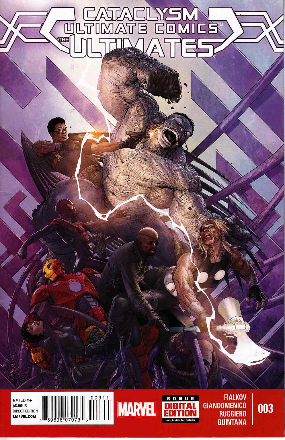 Cataclysm Ultimates #3 [Marvel Comic] LARGE