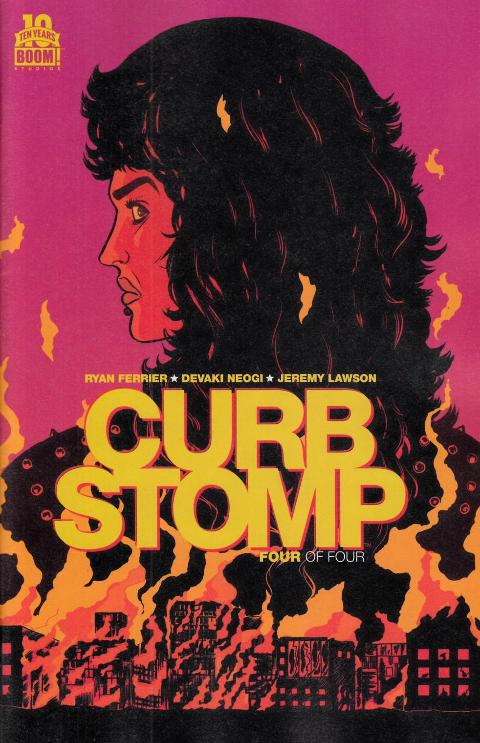 Curb Stomp #4 [Boom Comic]