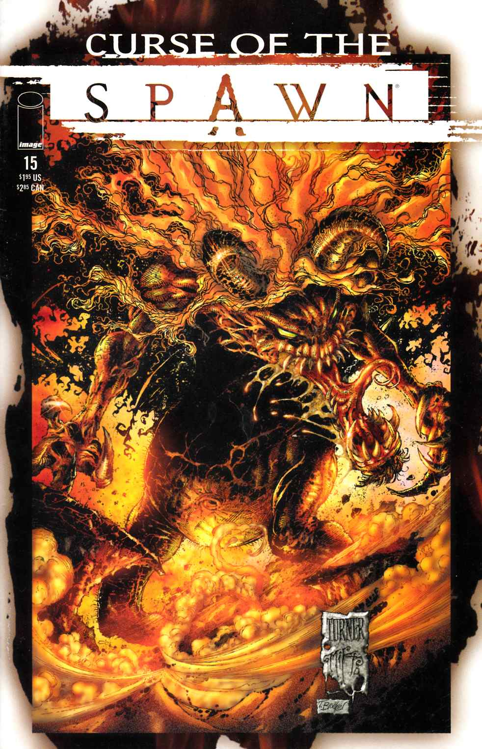 Curse of the Spawn #15 Very Good (4.0) [Image Comic] THUMBNAIL