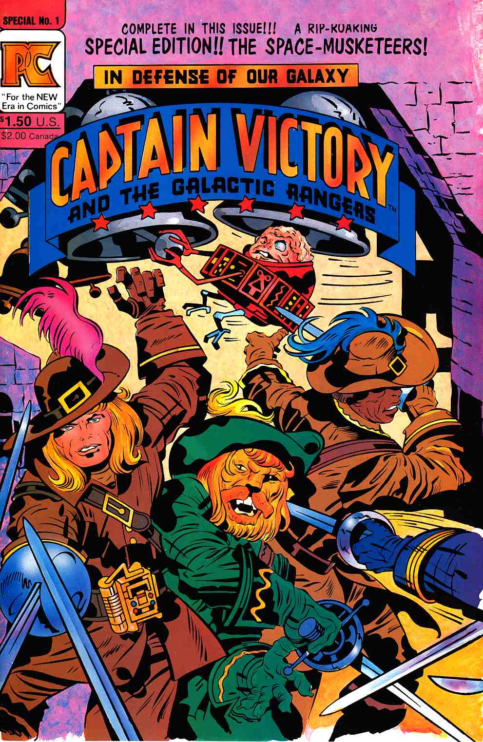 Captain Victory And The Galactic Rangers Special #1 [Pacific Comic] THUMBNAIL