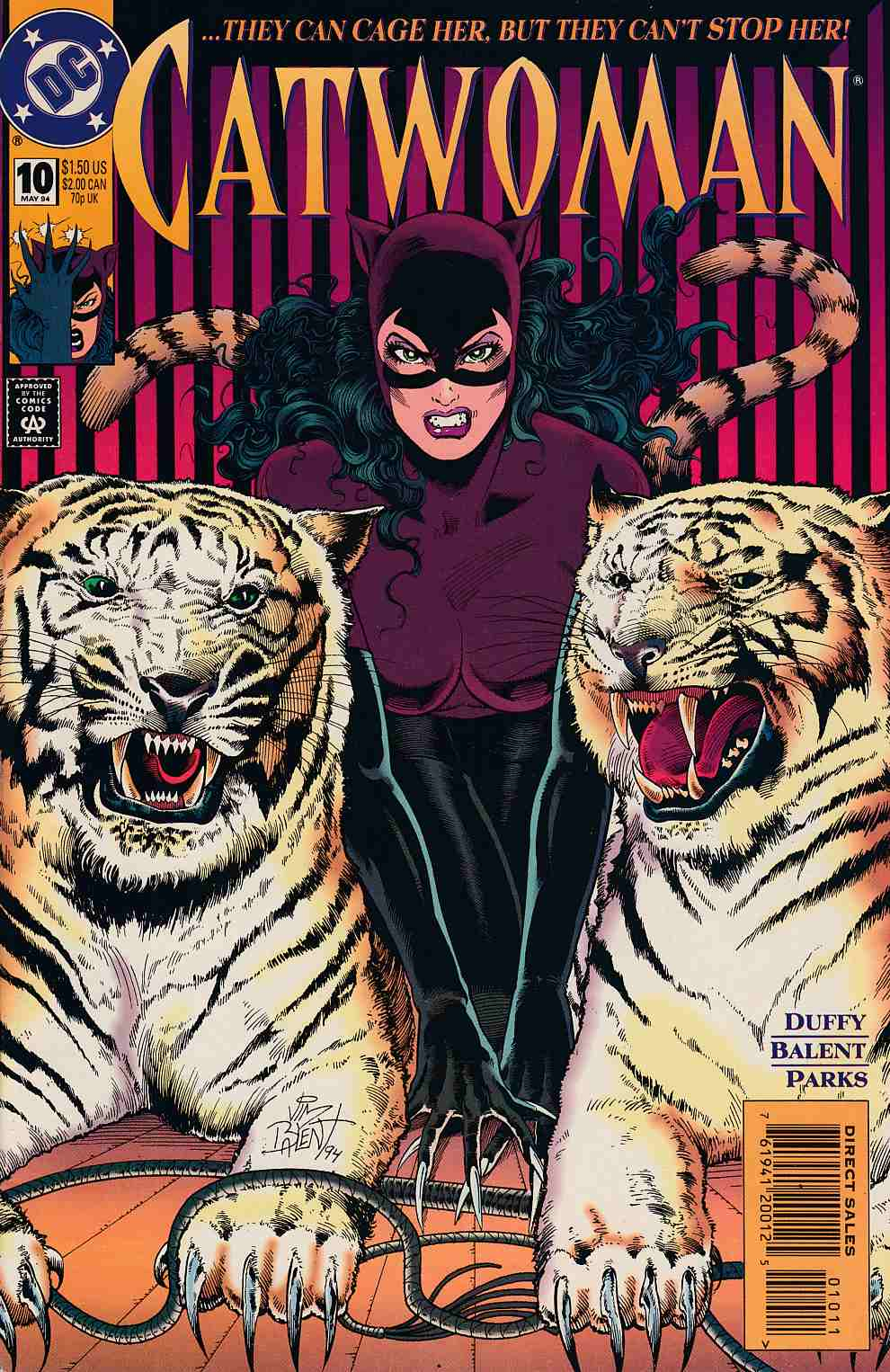 Catwoman #10 Near Mint (9.4) [DC Comic] LARGE