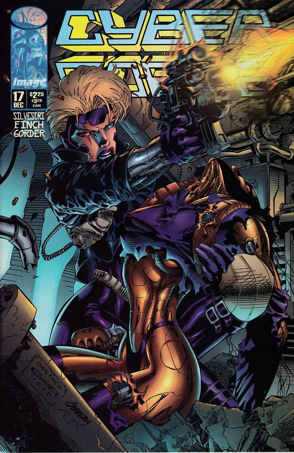 Cyberforce #17 Near Mint  (9.4) [Image Comic] THUMBNAIL