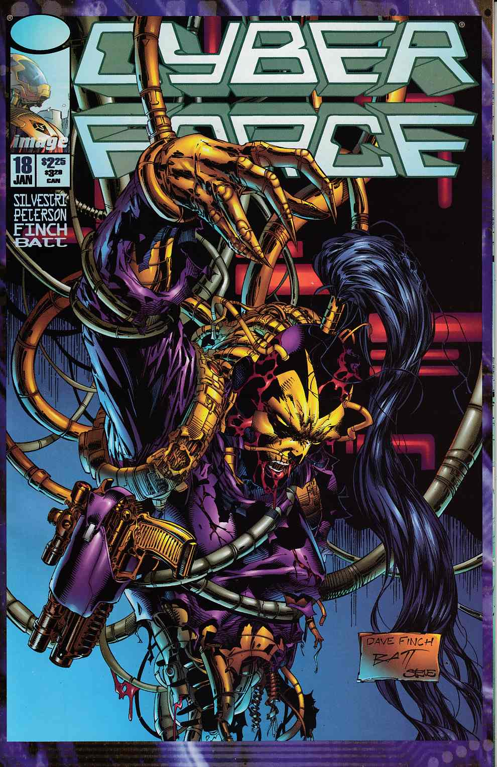 Cyberforce #18 Very Fine (8.0) [Image Comic] THUMBNAIL