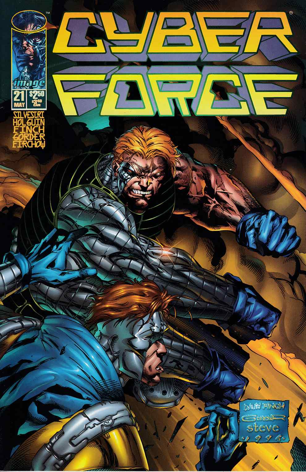 Cyberforce #21 Very Fine (8.0) [Image Comic] THUMBNAIL