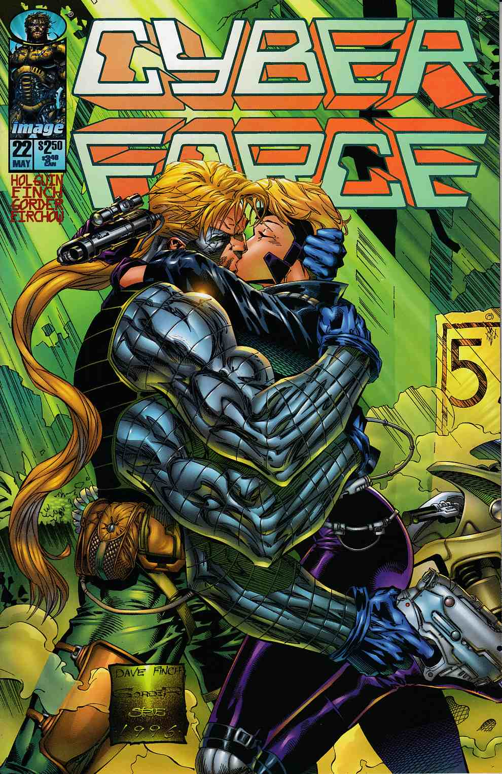 Cyberforce #22 Very Fine (8.0) [Image Comic] LARGE