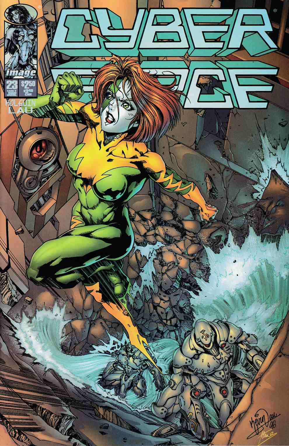 Cyberforce #23 Near Mint (9.4) [Image Comic] THUMBNAIL