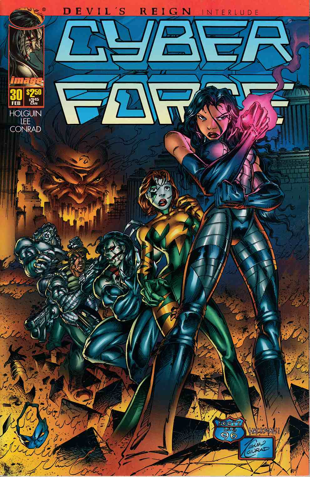 Cyberforce #30 Very Fine (8.0) [Image Comic] THUMBNAIL