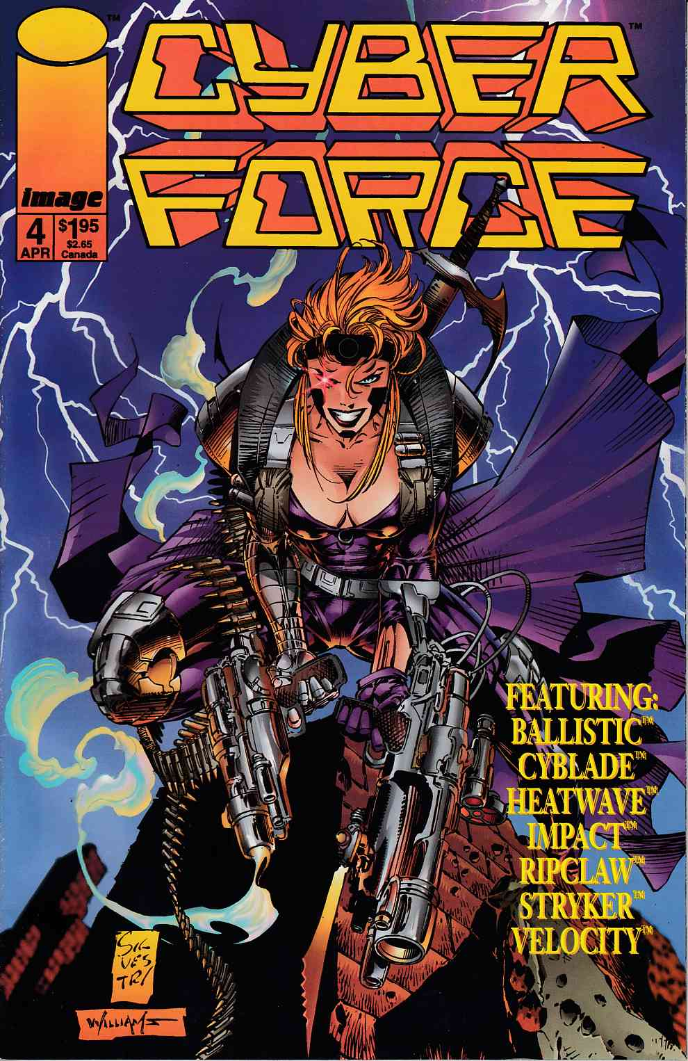 Cyberforce #4 Very Fine (8.0) [Image Comic] THUMBNAIL