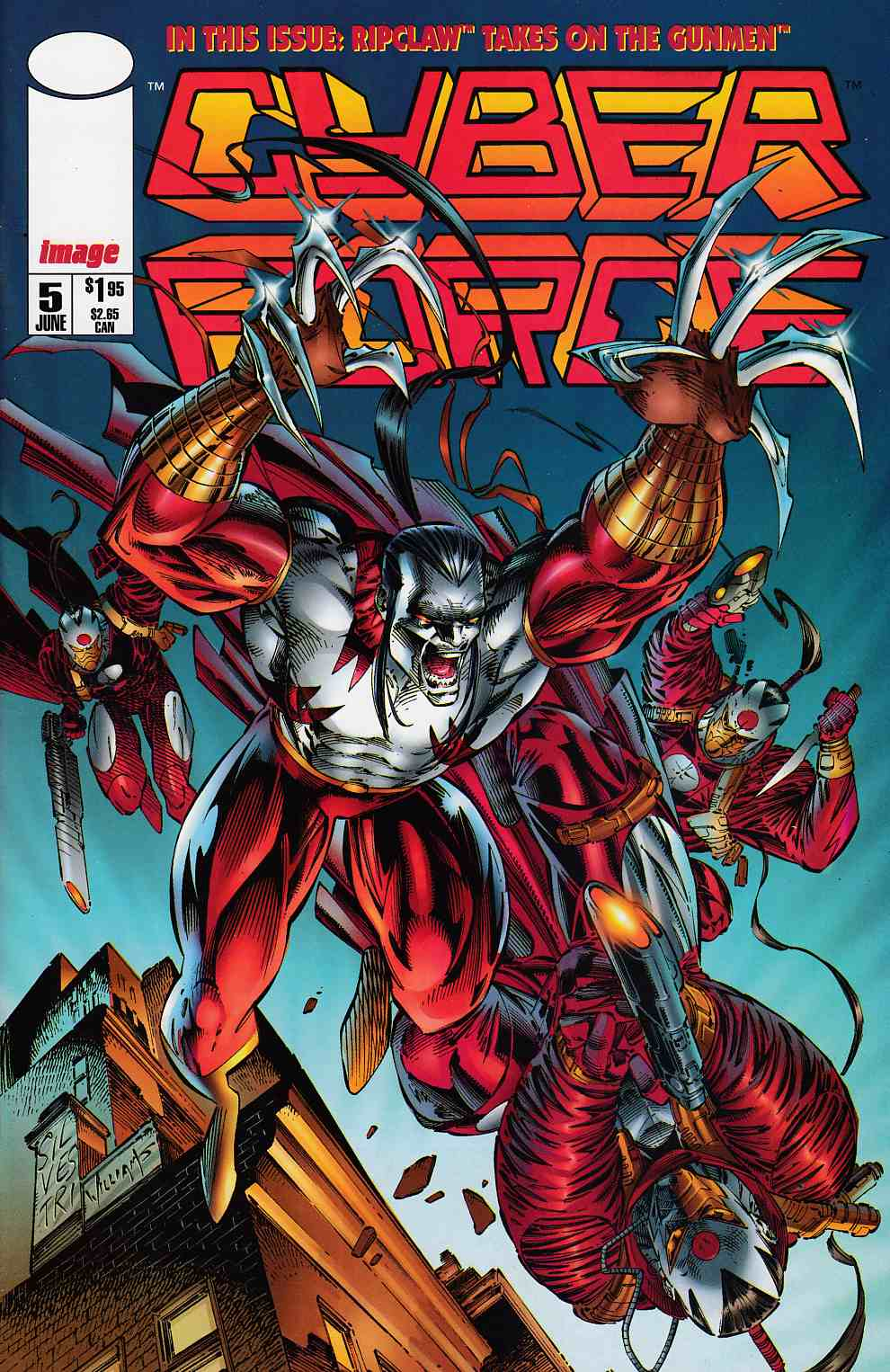 Cyberforce #5 Near Mint (9.4) [Image Comic] THUMBNAIL