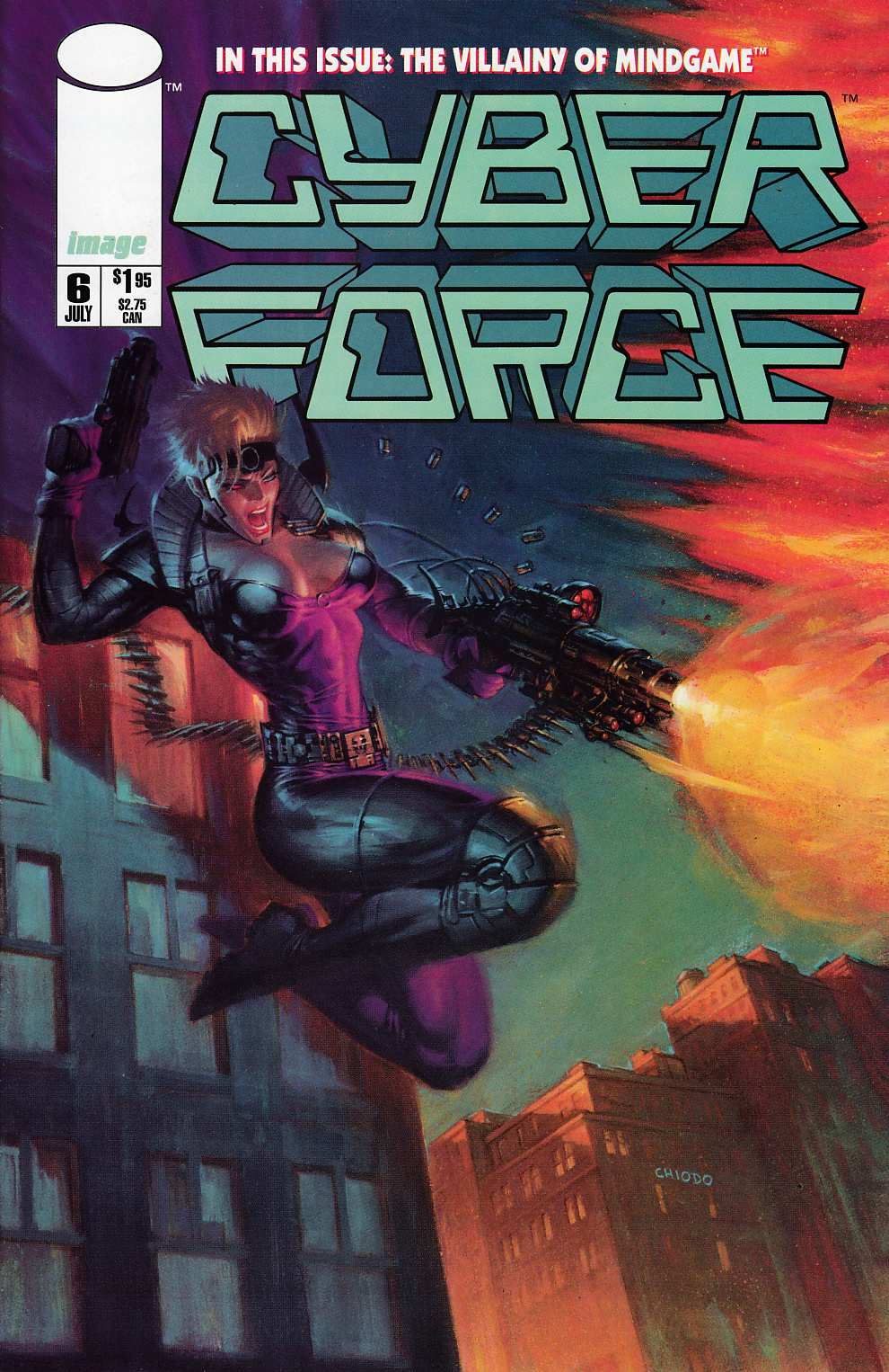 Cyberforce #6 Near Mint (9.4) [Image Comic] THUMBNAIL
