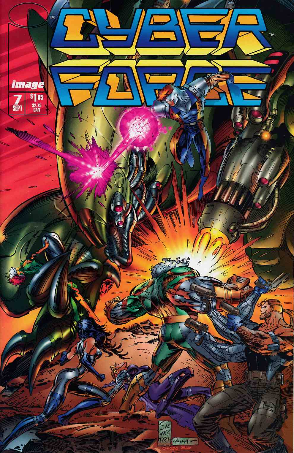 Cyberforce #7 Near Mint (9.4) [Image Comic] THUMBNAIL