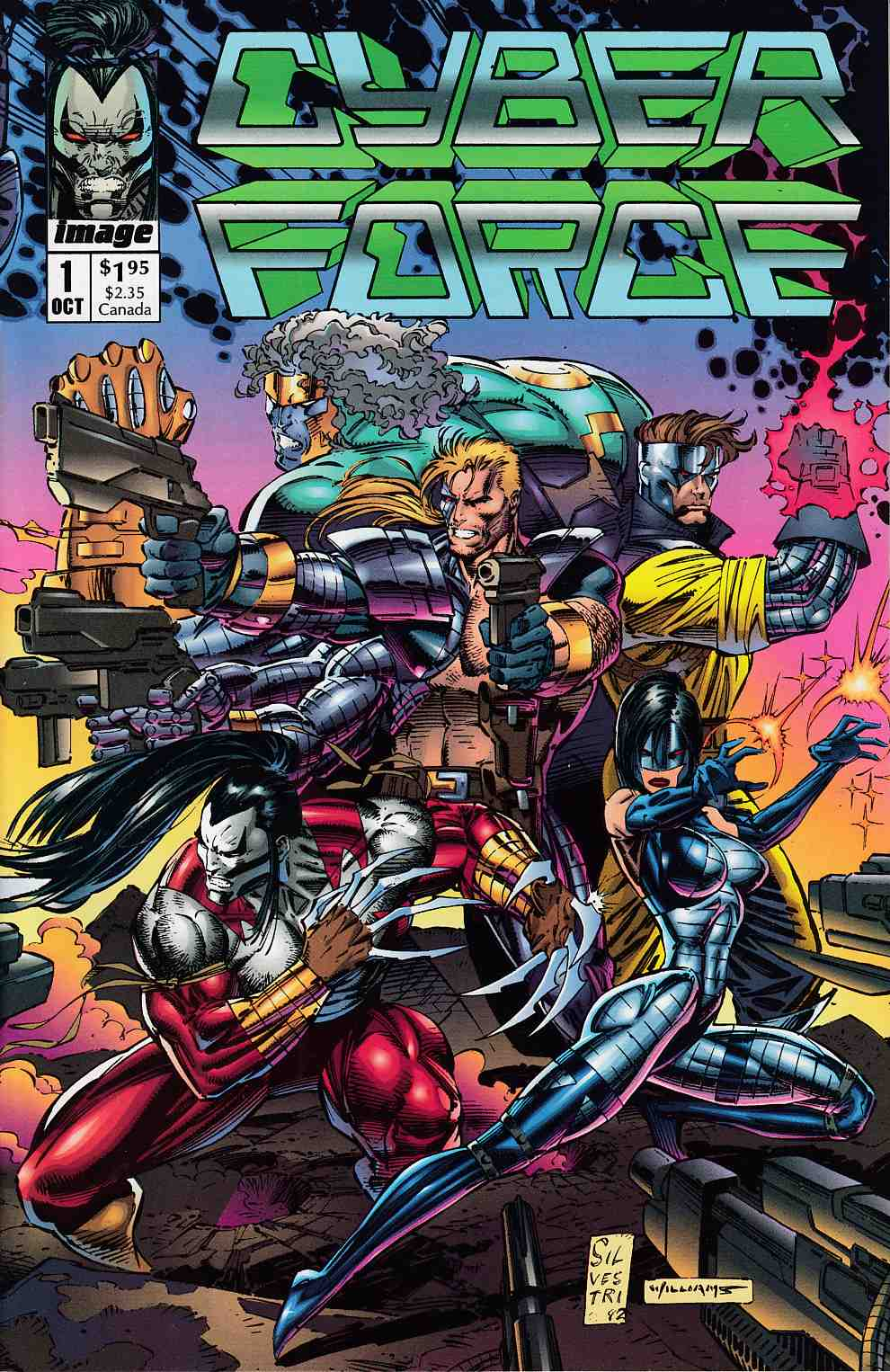 Cyberforce #1 Near Mint (9.4) [Image Comic] THUMBNAIL