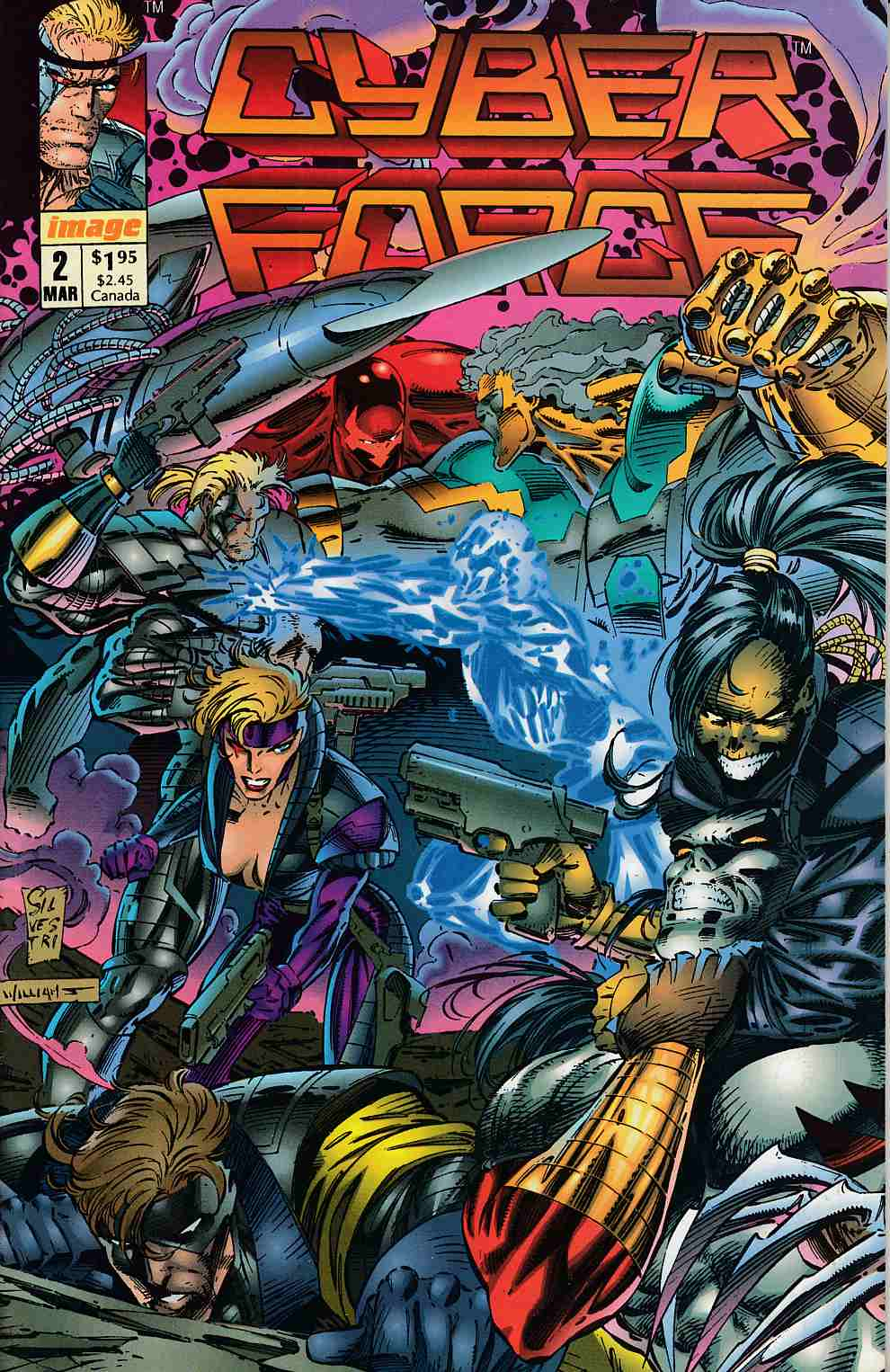Cyberforce #2 Near Mint (9.4) [Image Comic] THUMBNAIL