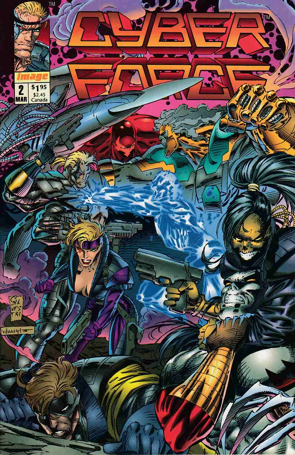 Cyberforce #2 Very Fine Minus (7.5) [Image Comic] THUMBNAIL