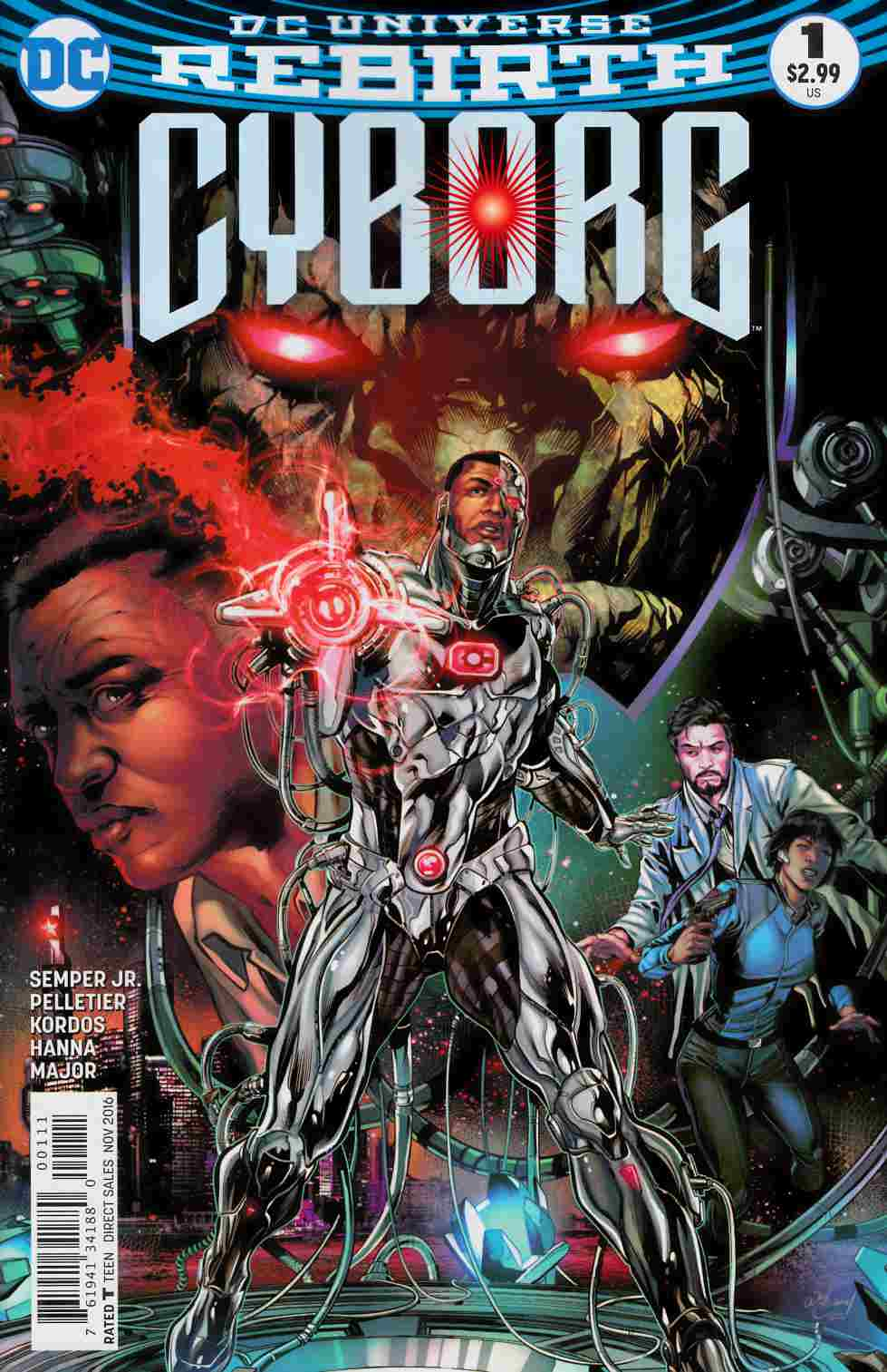 Cyborg #1 [DC Comic] LARGE