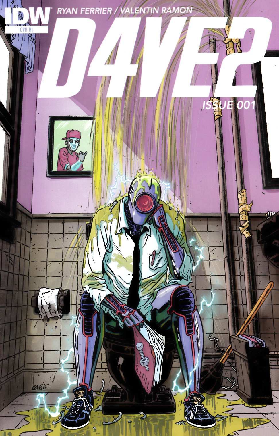 D4Ve2 #1 Cover RI [IDW Comic] THUMBNAIL