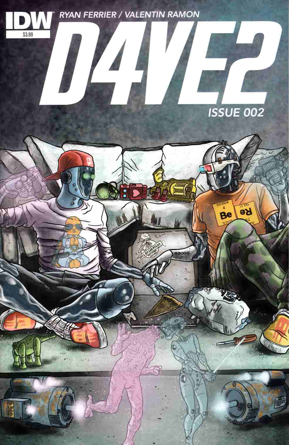 D4Ve2 #2 [IDW Comic] THUMBNAIL