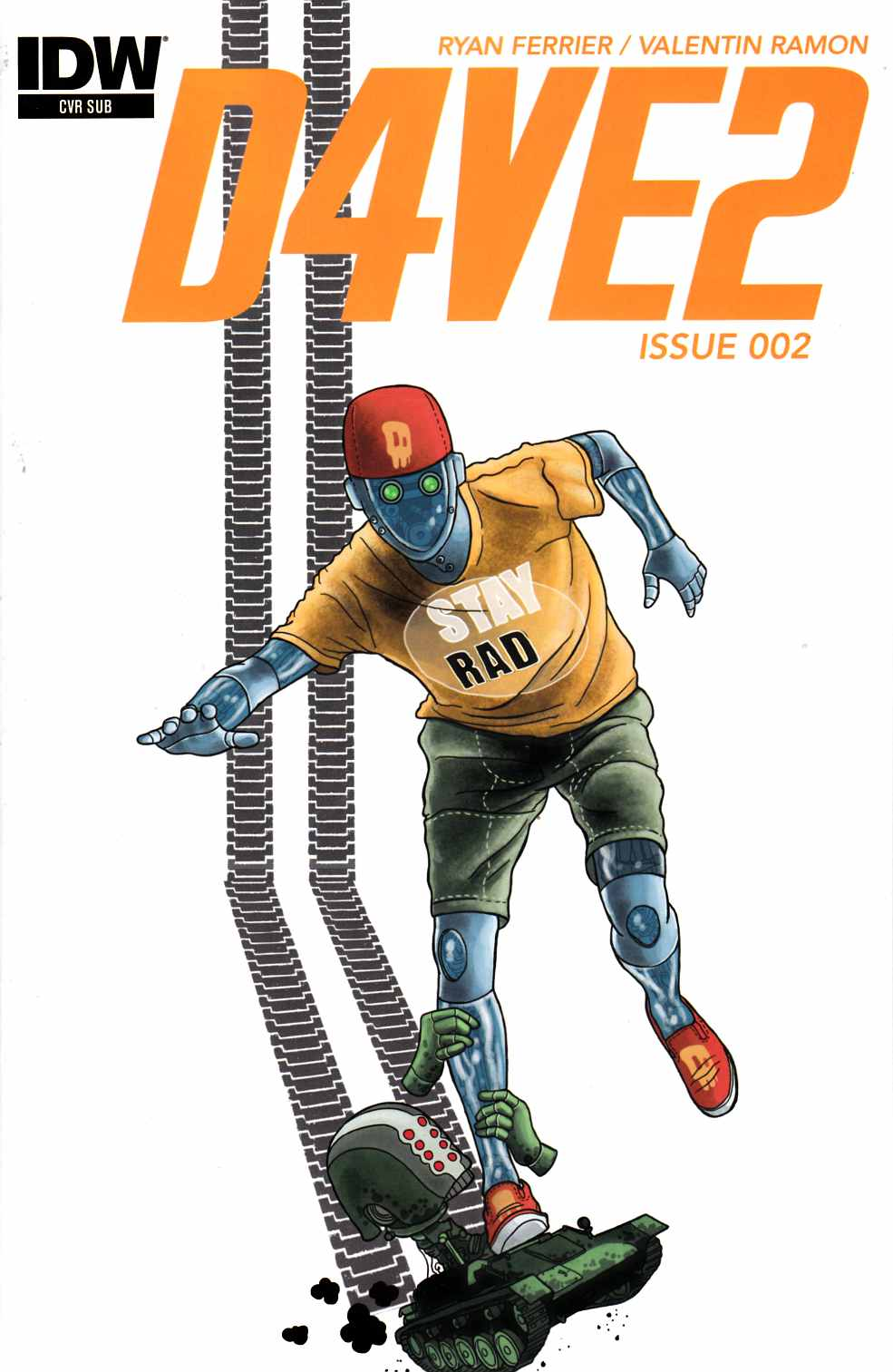 D4Ve2 #2 Subscription Variant Cover [IDW Comic] LARGE