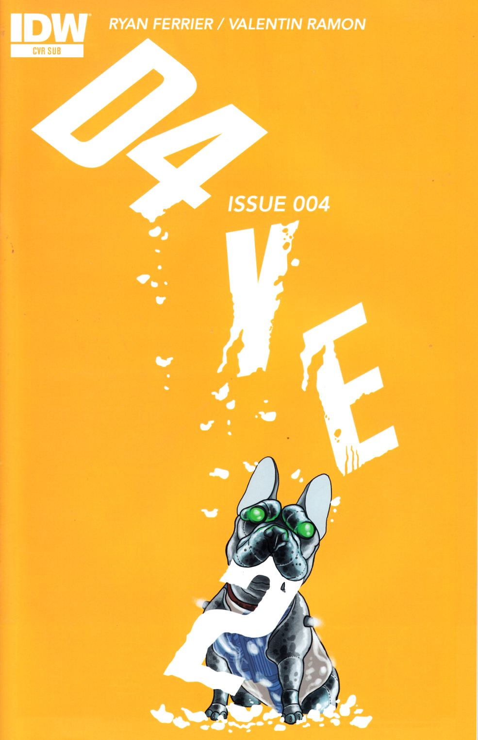 D4Ve2 #4 Subscription Cover [IDW Comic] THUMBNAIL