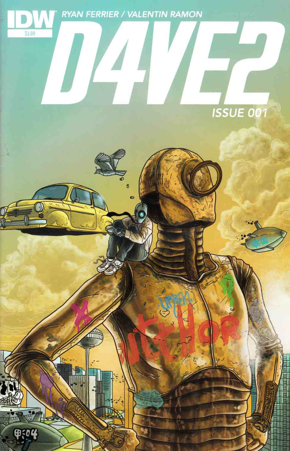D4Ve2 #1 [IDW Comic] THUMBNAIL