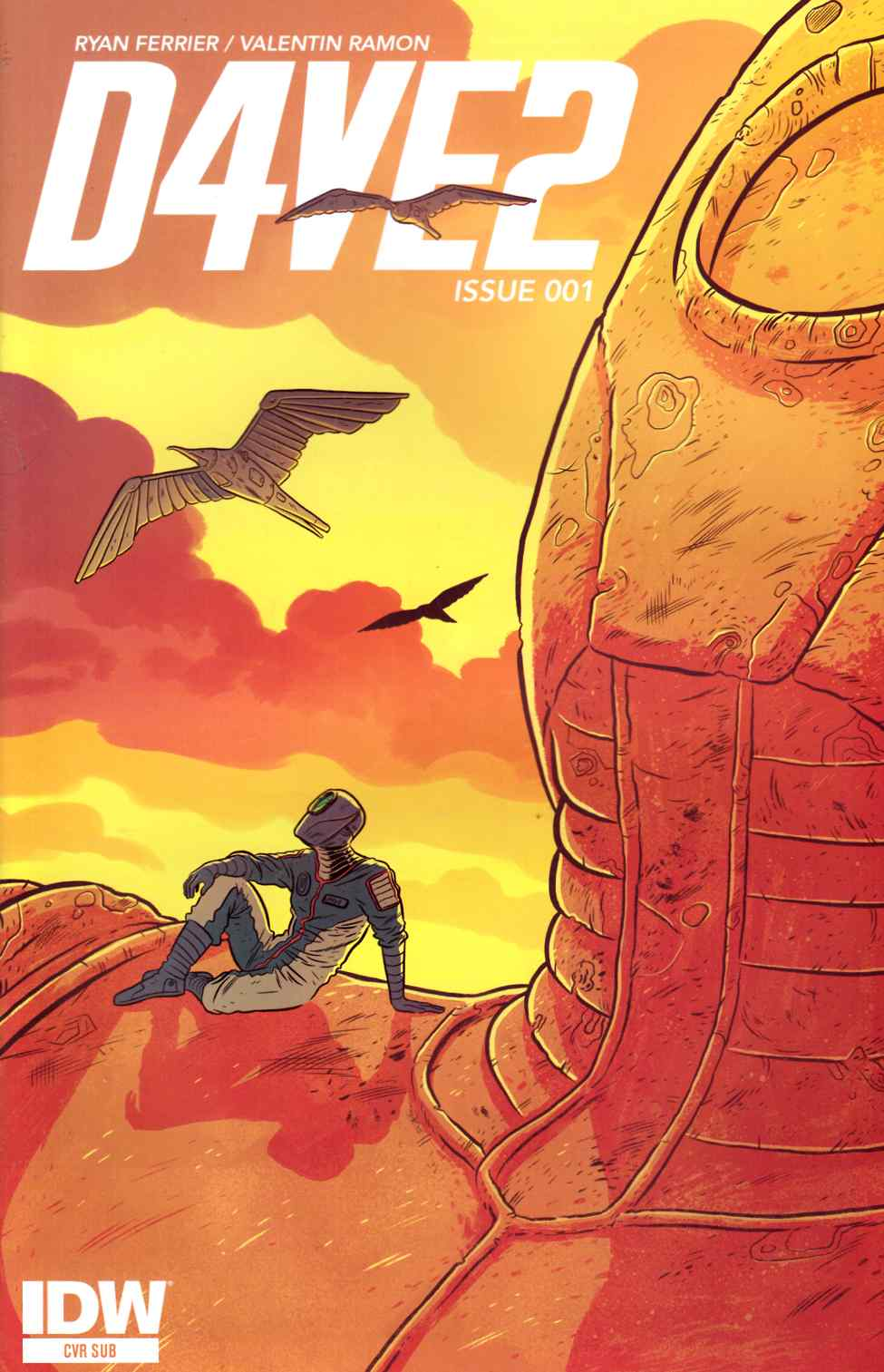 D4Ve2 #1 Subscription Cover [IDW Comic] THUMBNAIL